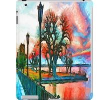 Sunset On The Lake iPad Case/Skin