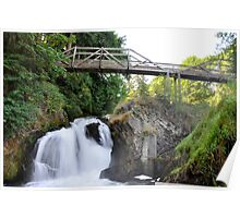 Lower Tumwater Falls Poster