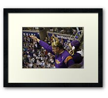 Viking Pride Framed Print