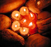 Candle fire lights Photo Colette by Colette Hera  Guggenheim