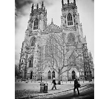 Footsteps through the blink of history Photographic Print