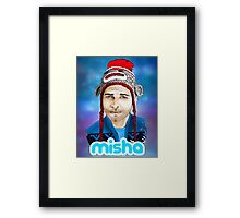 Misha Collins Framed Print