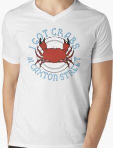 I Got Crabs at Caxton Street Mens V-Neck T-Shirt