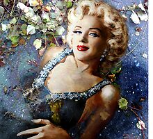 Marilyn Resurrection by TheoDanella