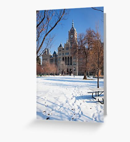 Old Couthouse, Salt Lake City Greeting Card