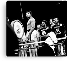 Thrilla in Manila. Reaction to Question About His weight Canvas Print