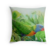 Showing True Colours Throw Pillow