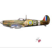 Spitfire Mk VA, 1941 by Jack Froelich