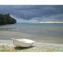 Storm's A Brewing, Mangawhai, NZ Photographic Print