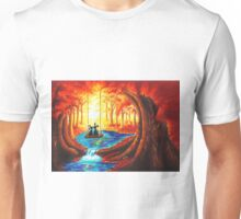 SWING INTO THE LIGHT OF LIFE Unisex T-Shirt
