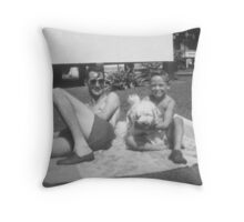 Byron, Meloff, My father Throw Pillow
