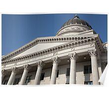 Capitol Building Facade Poster