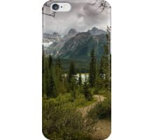 Heavy Skies Over Herbert Lake iPhone Case/Skin