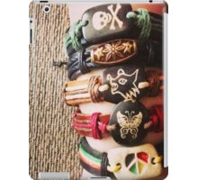 Crafty Accessories' handmade leather bracelets iPad Case/Skin