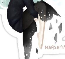 King Frost Femme Sticker
