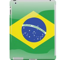 Brazil Flag Icon iPad Case/Skin