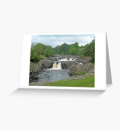 Low force,Co Durham. Greeting Card