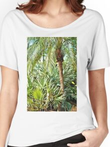 Tropical Palms Women's Relaxed Fit T-Shirt