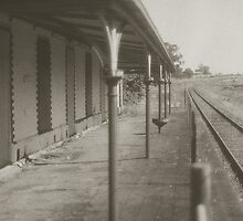 Clunes Railway Station by Greg Carrick