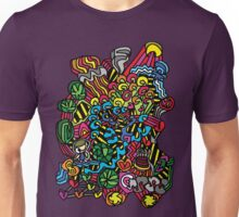 Moonbeams, Birthday Cake And Something That Looks Like Psychadelic Bacon Unisex T-Shirt