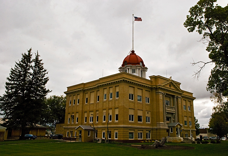Richland County Montana Court House by Bryan D. Spellman