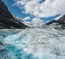The Rapids of a Melting Glacier by Kristin Repsher