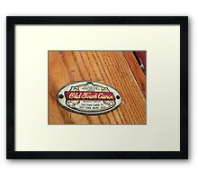 Old Town Canoe 2 Framed Print