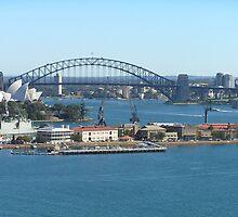 Sydney Harbour Shot  by spottedmagpie