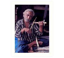 Indian man Art Print