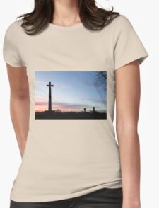 Durham Sunset Womens Fitted T-Shirt