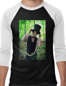 Mad as a Hatter Men's Baseball ¾ T-Shirt