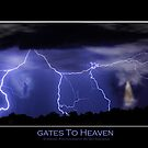 Gates to Heaven Color Poster by Bo Insogna