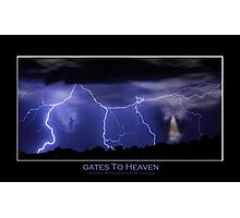 Gates to Heaven Color Poster Photographic Print