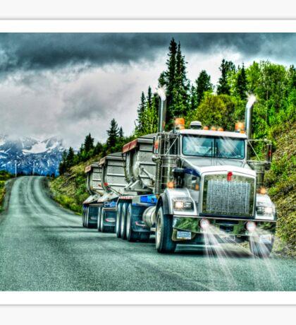 Gravel Truck Sticker