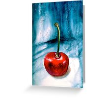 Cherries....Alone Greeting Card
