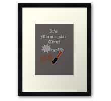 Feel like going out clubbing? Framed Print