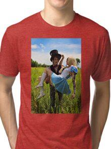 The Mad Hatter's Fantasy  Tri-blend T-Shirt