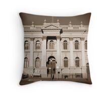 Daylesford Town Hall Throw Pillow