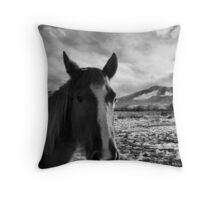 Morning After Portrait Throw Pillow