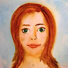 Anna - Watercolour Girl From Queensland by ElsieByrne