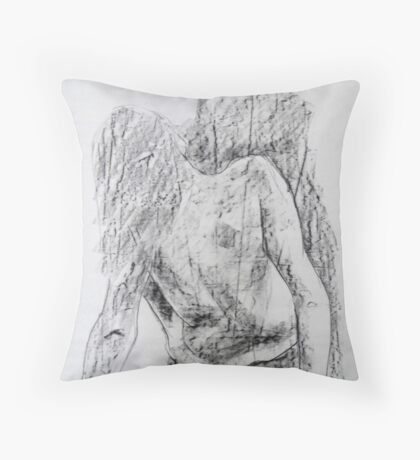 Warmup sketch of Zenta Throw Pillow