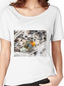 Frosty Robin Women's Relaxed Fit T-Shirt