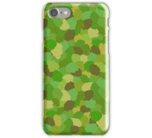 Green Camouflage Military Pattern iPhone Case/Skin