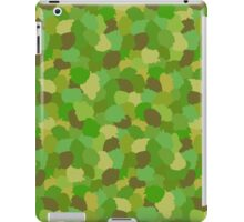 Green Camouflage Military Pattern iPad Case/Skin
