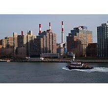 East River, NYC Photographic Print