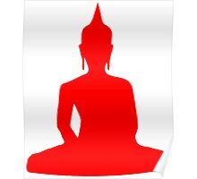 Buddha Silhouette Poster