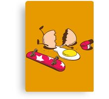 Egg+Skateboard Canvas Print