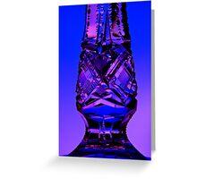 Crystal Vase Greeting Card