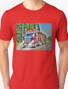 British Columbia Logging Truck, Canada T-Shirt