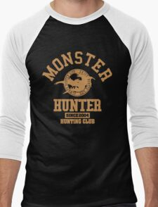 Monster Hunter International Hunting Club Men's Baseball ¾ T-Shirt